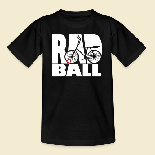 Radball | Typo - Teenager T-Shirt