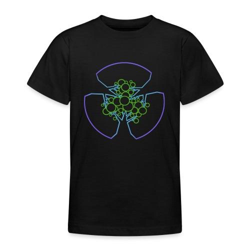 Drei Bäume, blau-grün - Teenager T-Shirt