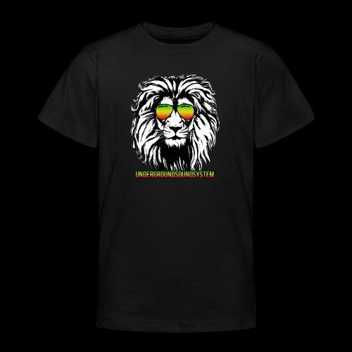 RASTA REGGAE LION - Teenager T-Shirt