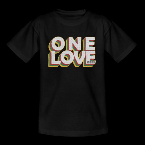 ONE LOVE - Teenager T-Shirt
