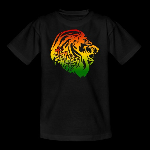 RASTA FARI LION - Teenager T-Shirt