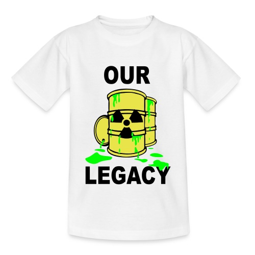 T-Shirt Mann Our Legacy © by kally ART® - Teenager T-Shirt
