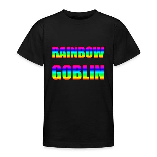 Rainbow Goblin Farming Gamer Shirt Geschenk - Teenager T-Shirt