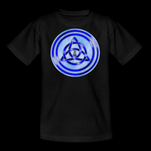 Awen Triqueta Circle - Teenage T-Shirt