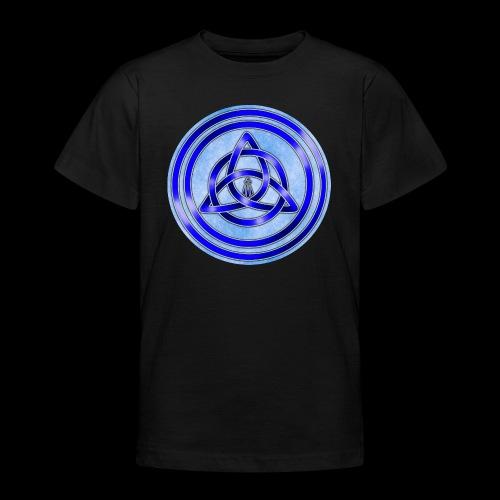 Awen Triqueta Circle - Teenage T-Shirt