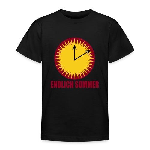 Endlich Sommer - Teenager T-Shirt