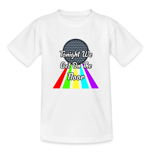 Dance Party - Teenager T-Shirt