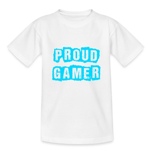 Proud Gamer - Teenager T-Shirt