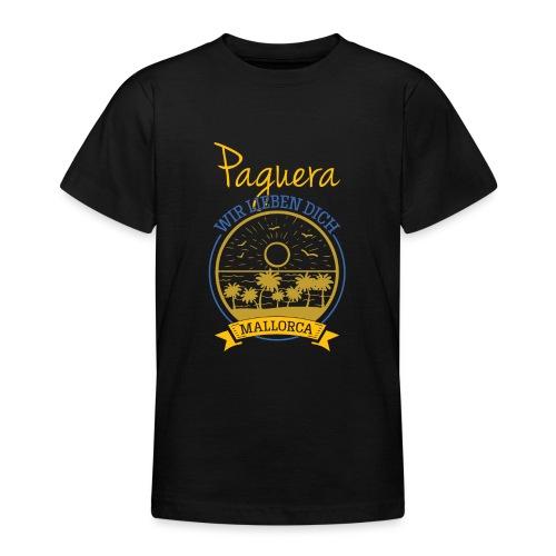 Paguera - Peguera Mallorca - Fan Design - Teenager T-Shirt