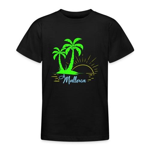 Die goldenen Sonnenuntergänge von Mallorca - Teenager T-Shirt