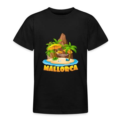 Mallorca - schau wie schön die Insel ist! - Teenager T-Shirt