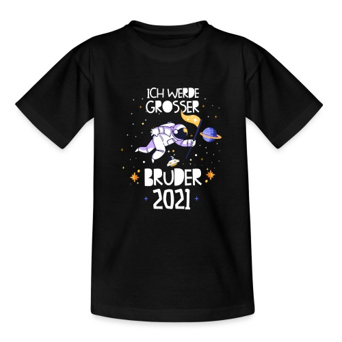 Großer Bruder 2021 Astronauten Astronaut Planeten - Teenager T-Shirt