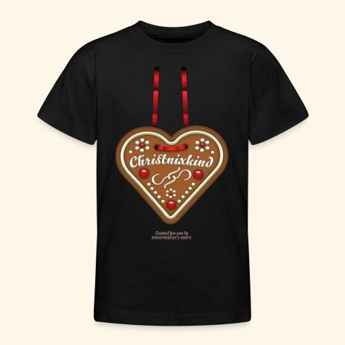 Ugly Christmas Lebkuchenherz Weihnachten - Teenager T-Shirt