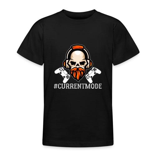 Hashtag Current Mood Gamer - Teenager T-Shirt