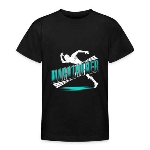 Marathoner - Teenager T-Shirt