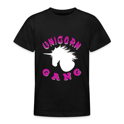 Unicorn Gang - Teenager T-Shirt