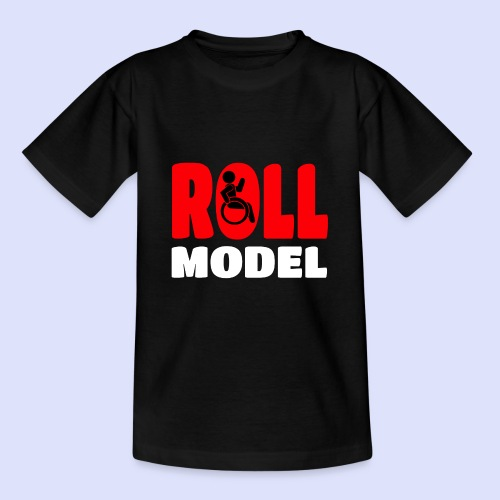 Rolstoel Roll model 015 - Teenager T-shirt