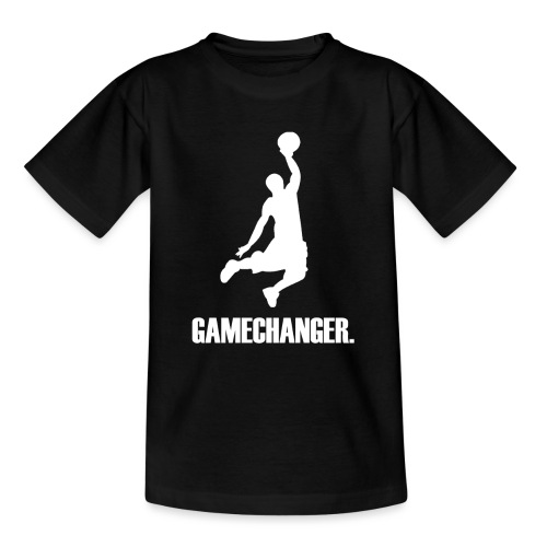 Gamechanger weiß - Teenager T-Shirt
