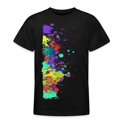 Splat Painting / Klecks Malerei - Teenager T-Shirt