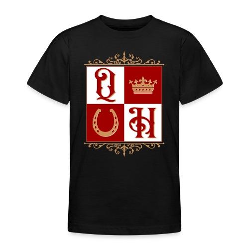 Quater Horse Ornament Pferd Royal König Geschenk - Teenager T-Shirt