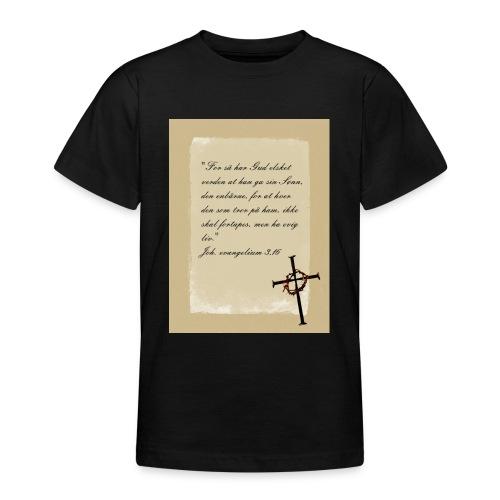 kors 23 skrift jpg - T-skjorte for tenåringer