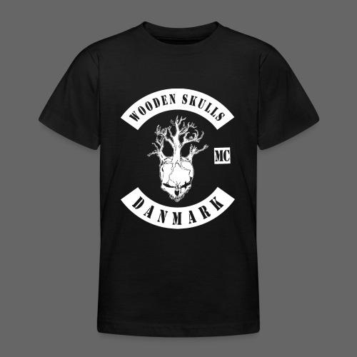 Wooden Skulls - Teenager-T-shirt
