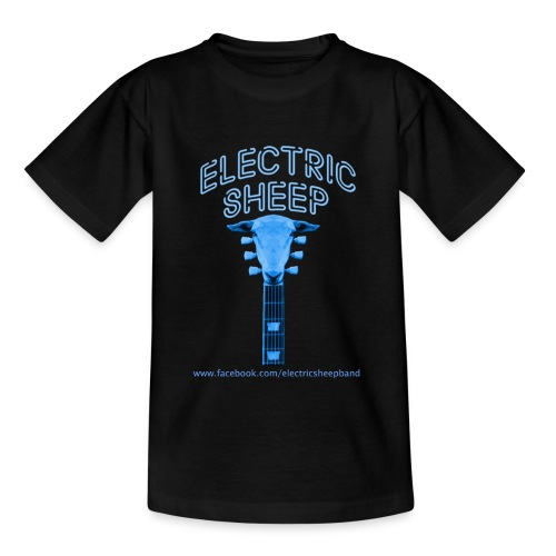 Electric Sheep Head Stock Logo - Teenage T-Shirt
