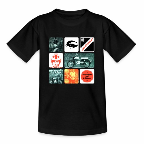 Simson Star Moped - Teenage T-Shirt