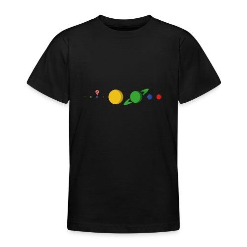 Kugel Maps - Teenager T-Shirt