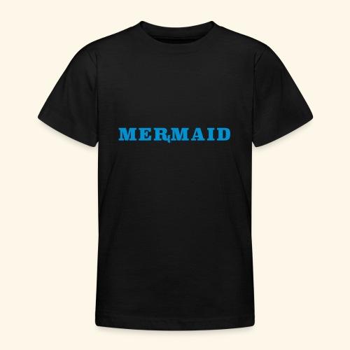 Mermaid logo - T-shirt tonåring