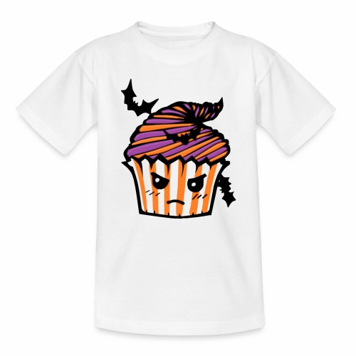 cupcake Halloween - Camiseta adolescente