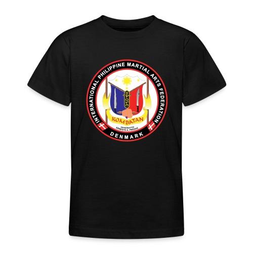 Kombatan Arnis Denmark - Teenager-T-shirt
