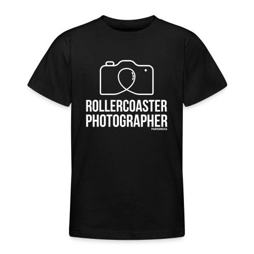 Photographe de montagnes russes - T-shirt Ado