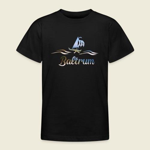 Baltrum Urlaub Nordsee Meer - Teenager T-Shirt