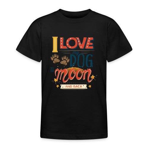 Moon Dog Light - T-shirt tonåring