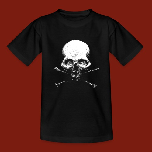 Old Skull - Teenage T-Shirt