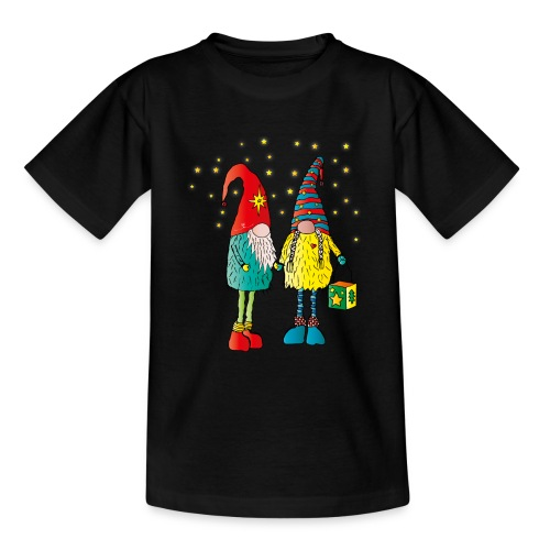Weihnachtswichteln - Teenager T-Shirt