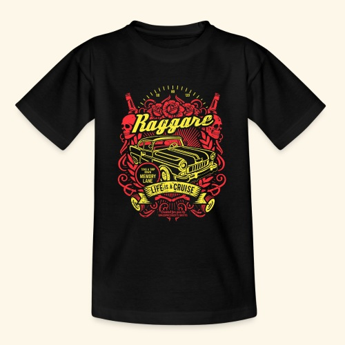 Raggare T-Shirt Life is a Cruise - Teenager T-Shirt