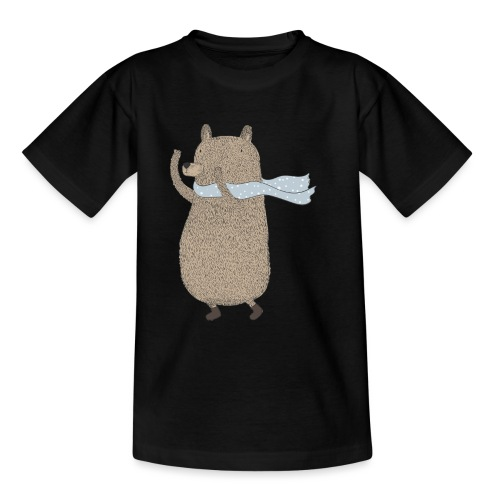 Fluffy Cuddle Bear by #OneCreativeArts - Teenager T-Shirt