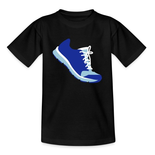 Laufschuh - Teenager T-Shirt