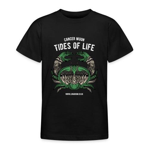 Cancer Moon Dark - Teenage T-Shirt