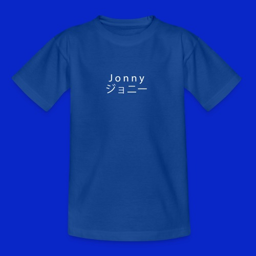 J o n n y (white on black) - Teenage T-Shirt