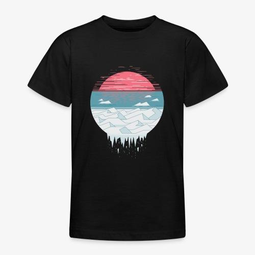 Erderwärmung der Sonne - Teenager T-Shirt