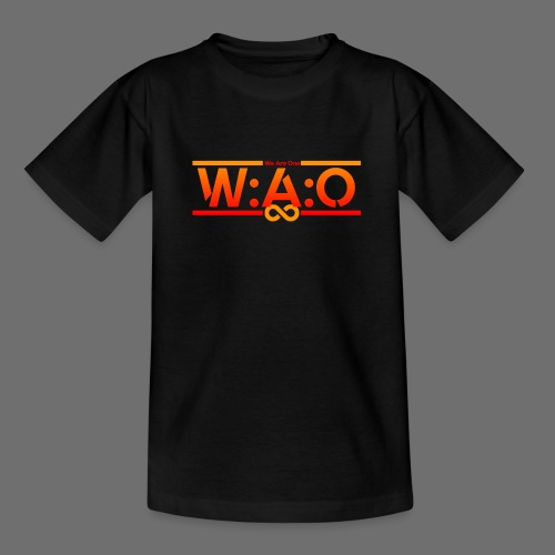 W:A:O We Are One - Teenager T-Shirt