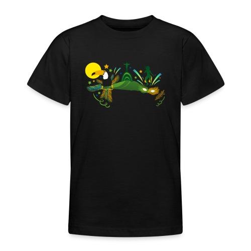 Brazilian Carnival Carnival in Rio de Janeiro - Teenage T-Shirt
