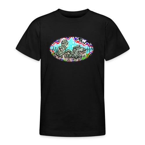 Across the Tracks Blur - Teenage T-Shirt