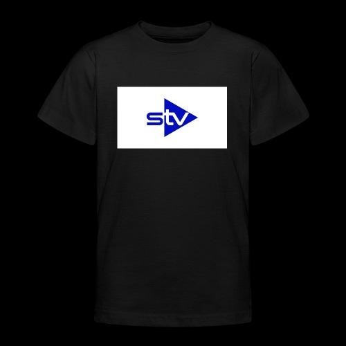 Skirä television - T-shirt tonåring