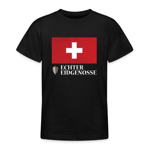 Echter Eidgenosse Schweiz - Teenager T-Shirt