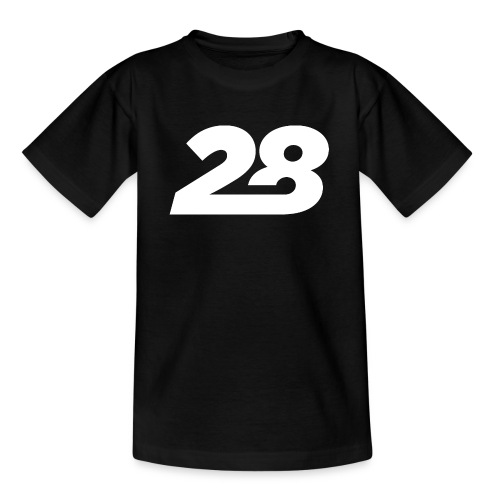 28 White - Teenage T-Shirt