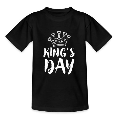 King's Day T-shirt Amsterdam - Teenager T-shirt